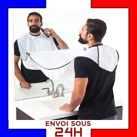 TABLIER RASAGE BARBE Poils Cheveux barbe poil évier utile homme soins  tissu FR