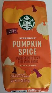 NEW Starbucks Pumpkin Spice Flavored Ground Coffee FREE WORLDWIDE SHIPPING