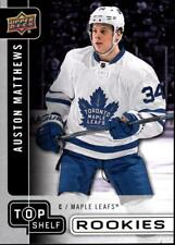 2017 National NSCC Upper Deck TS-5 Auston Matthews Maple Leafs