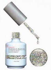 LeChat Perfect Match Lacquer + Gel Nail Polish Hologram Diamond #PMS59 - .5oz