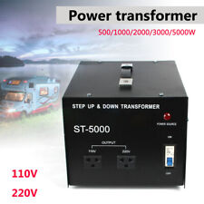 5000W Voltage Converter Transformer Step Up Down110V to 220V & 220V to 110V USA