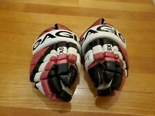 New listing Eagle X5 Odyssey 13� Player Ice Hockey Gloves Adult Rare Pink Dangler Sniper Nhl