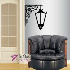 Vinyl Wall Decal Vintage Street Light Wall Lantern Lamp Mural Art Sticker 1386