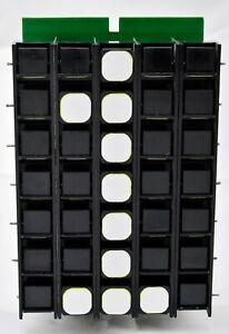 Electromagnetic flip disk display 5x7 split dot matrix