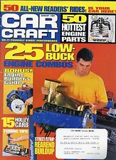 Car Craft Magazine August 1997 Engine Builder Guide / Holley Card Tuning Tips