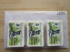 # 1330 x 100 Used US Stamps Lot  Davy Crockett Issue  see our other lots