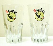 BACCHUS BELGIAN BEER GLASSES/PAIR by RITZENHOFF - Collectible