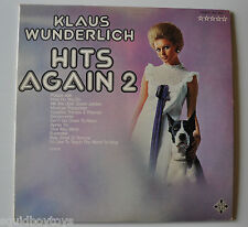 KLAUS WUNDERLICH: Hits Again 2 LP Record Sexy Cheesecake Cover