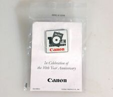 CANON ELPH 10TH ANNIVERSARY PIN