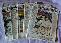 Shotgun News Magazine Back Issue Lot of 5 (Vol. 66 Issues 5 6 7 8 10 - 2012)