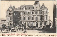CGH: EDVII Postcard, Harbour Board Offices, Cape Town: to Portsmouth, 8 Oct 1905