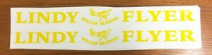 Lindy Flyer Wagon Pull Toy Replacement Stickers    WA-003