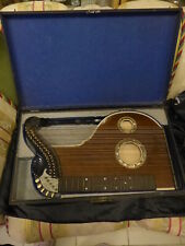 Antique Zither Harfenzither IN Original Wooden Box - Top Condition