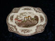 Beilagenplatte Johnson Bros England Old Britain Castles braun multicolor (P-286)