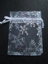 Christmas Organza bag for weddings, christmas, xmas , favours, gifts, jewellery