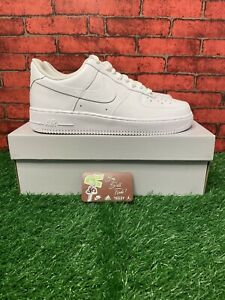Nike Air Force 1 '07 Low Men's Size 9.5 Triple White
