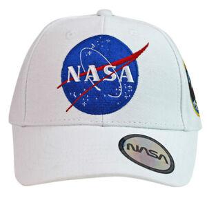 NASA Embroidered Apollo 11 White Baseball Cap