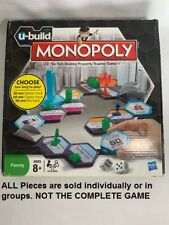 U-Build Monopoly Game Replacement Pieces Tiles  U-PICK