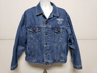 House Of Blues Rock n Roots 1998 Southern Comfort Denim Jean Jacket Extra Large