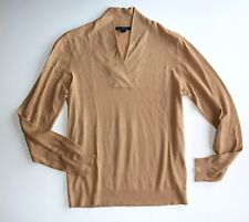 Brooks Brothers M Camel Tan Silk/Cashmere BRAND NEW with TAG Sweater Top