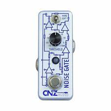 CNZ Audio Noise Gate Guitar Effects Pedal, True Bypass