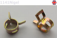 8mm Spring Fuel Oil Water Hose Clip Pipe Tube for Band Clamp Metal Fastener