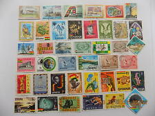 Ghana Collection of used stamps off paper-3-3