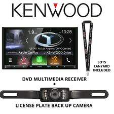 """Kenwood DNX994S DVD Navigation 6.95"""" Touchscreen HD Radio Backup Camera Package"""