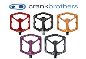 Crank Brothers Stamp 7 Small / Large, Black, Assorted Colors MTB Platform Pedals