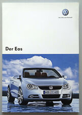 V14112 VOLKSWAGEN EOS - CATALOGUE - 05/07 - A4 - D