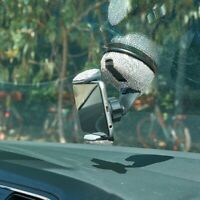 Bling Rhinestones Car Windshield Vent Mount Bracket For Car Phone Holder Stand