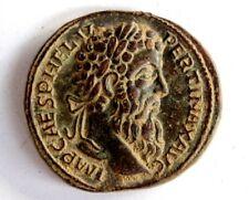 THE ROMAN EMPIRE PERTINAX Sestertius Coin 193 AD