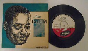 Art Tatum, In Concert.Rare 1957 Jazz EP.EPV 1212.Near Mint Vinyl,..Cover,Ex