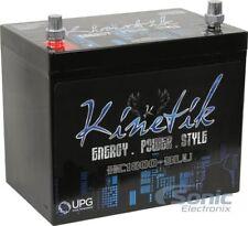 Kinetik Hc1800-Blu 1800 Watt Car Battery/Power Cell 12V High Current Agm Hc1800