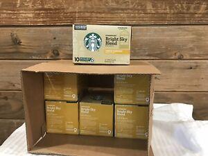6-box Starbucks Blonde Bright Sky Blend Keurig 10 K-Cups Each LightRoast BB-1/21