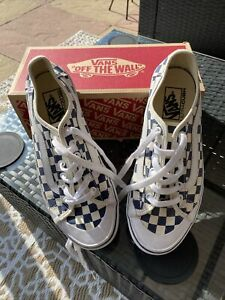 Ladies/mens Vans Size 7 Excellent Condition Only Worn Couple Of Times