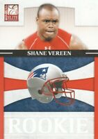 2011 Donruss Elite Rookie NFL Team Logo #25 Shane Vereen /999 NE Patriots