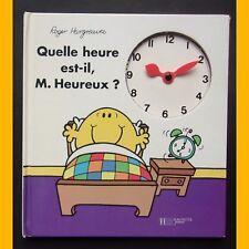 QUELLE HEURE EST-IL, M. HEUREUX ? Roger Hargreaves 1997