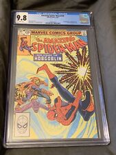 Amazing Spiderman 239 CGC 9.8 White Pages Key Comic Book 1983