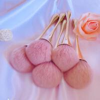 Rose Gold Powder Blush Brush Contour Make Up Brush Large Cosmetic Face Tools