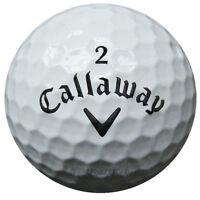 200 Callaway Mix Golfbälle im Netzbeutel AA/AAAA Lakeballs weiße Bälle Golf