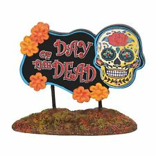 Department 56 Day of the Dead Sign Halloween 6003230 New 2019 Dept