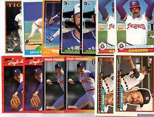 Doyle Alexander 39 Card Lot