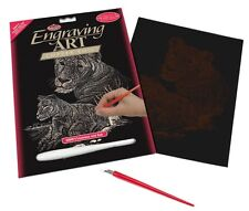 Royal and Langnickel - Engraving Art Set – Lioness and Cub – Copper Foil