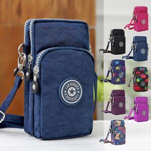 Small Women Card Holder Cell Phone Case Shoulder Bag Pouch Handbag Purse Wallets