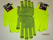 Safety Gloves Neon Yellow - Traffic Safety Patrol, Construction, Walking Camping