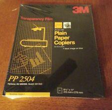 Transparency Film Plain Paper Copier PP 2504