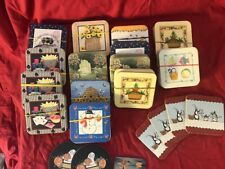 Longaberger Coasters - 15 Sets of 4 Coasters - Resellers Lot