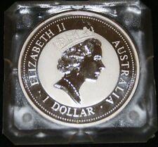 Australia 1 dólares 1994 Kookaburra Elizabeth II 1 oz. 999 plata
