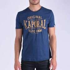 T shirt Kaporal manches courtes homme Brisk Blue us